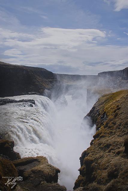 Gullfoss, IJsland