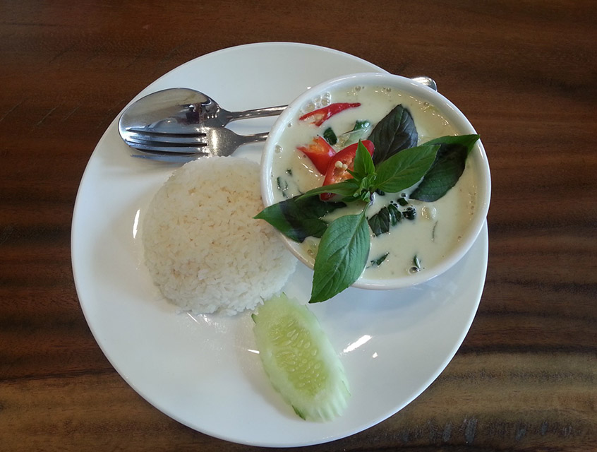 Green Curry - Thailand