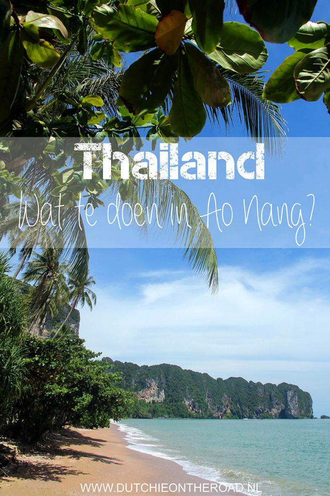 Wat te doen in Ao Nang?