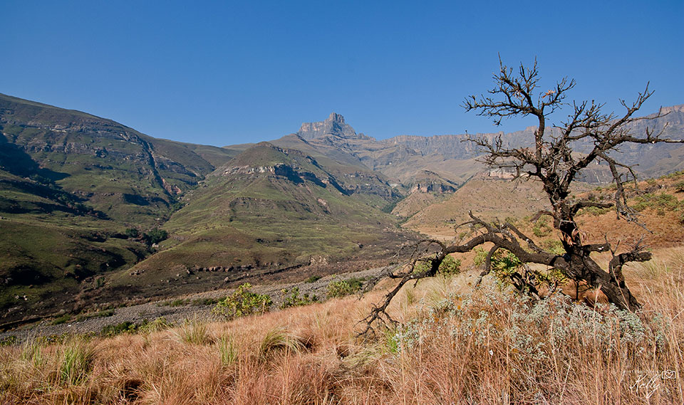 Reisroute Zuid-Afrika. Swaziland, Lesotho