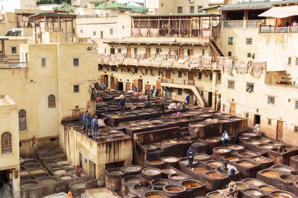 Reisroute Marokko