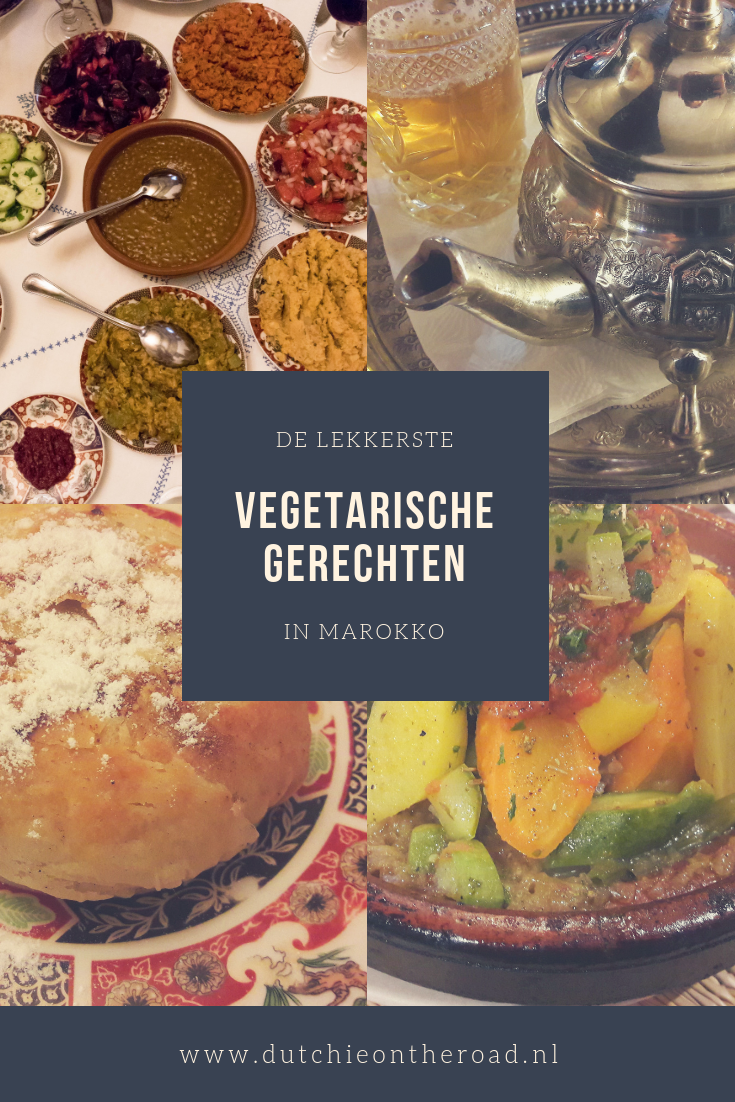 vegetarische gerechten Marokko