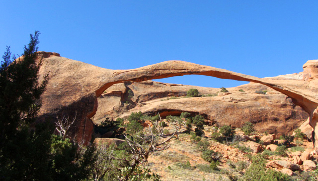 wandelen in Arches National Park