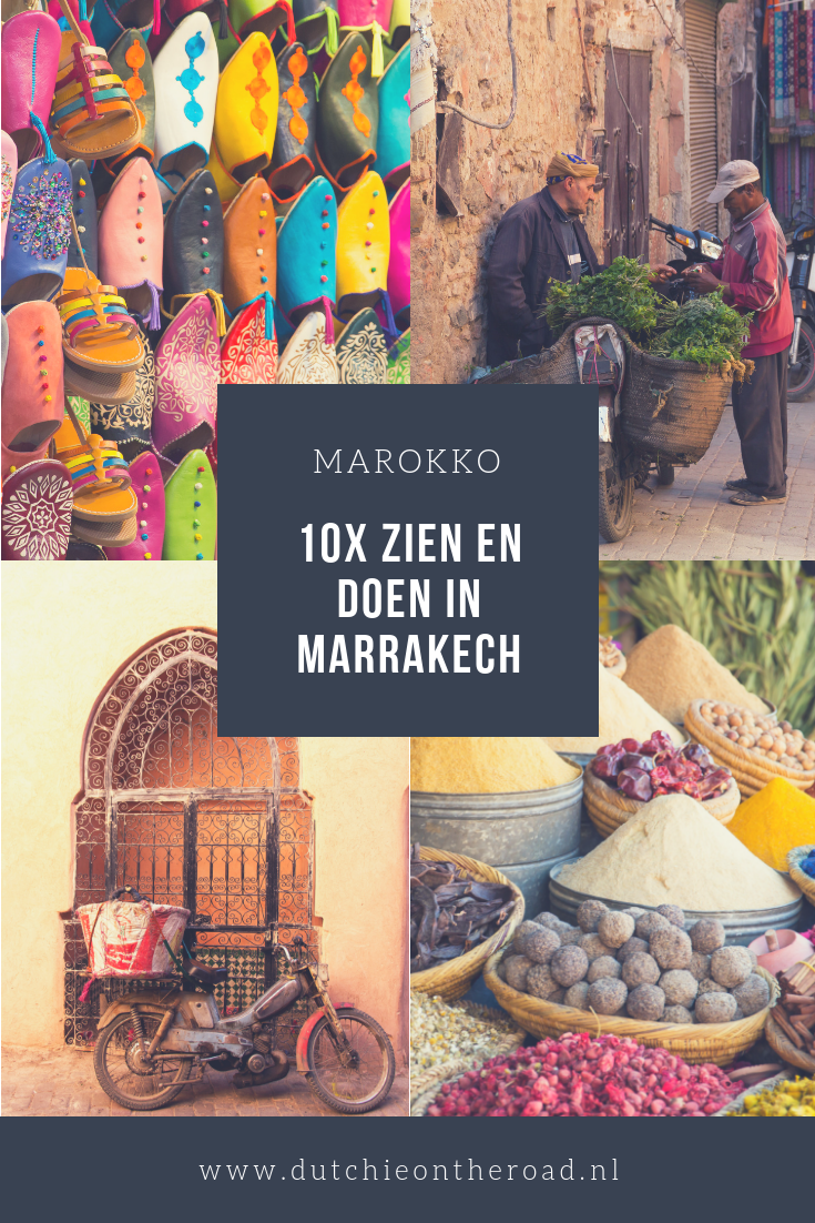 Zien en doen in Marrakech