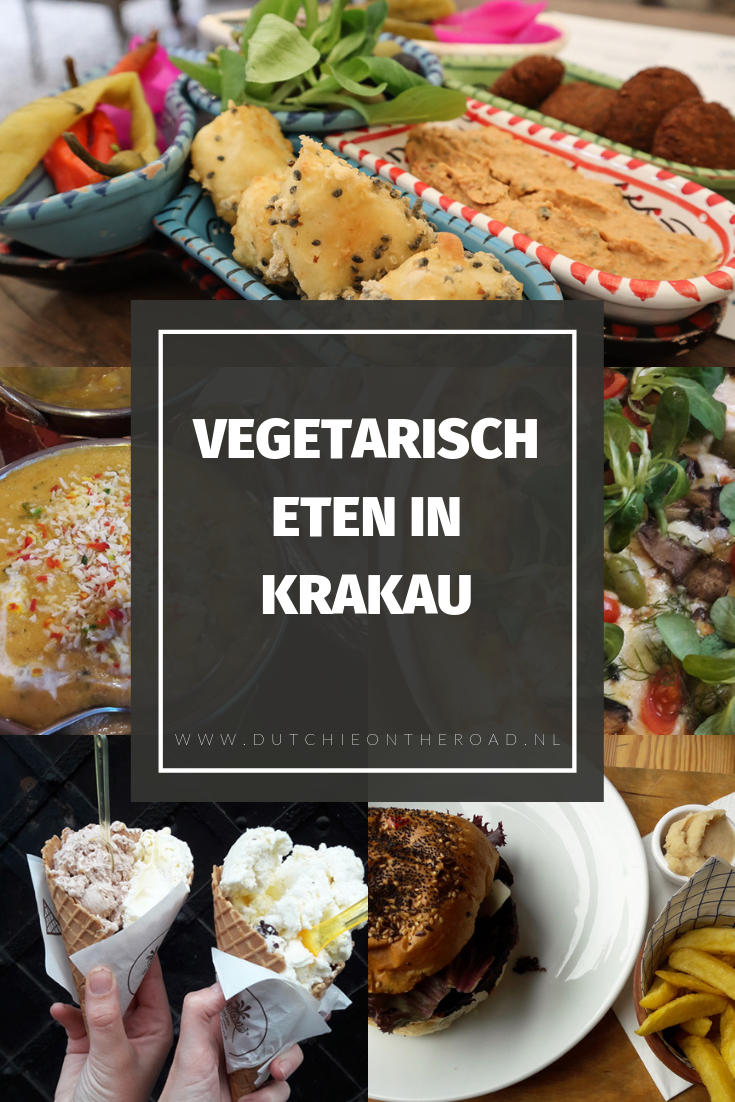 vegetarisch eten in Krakau