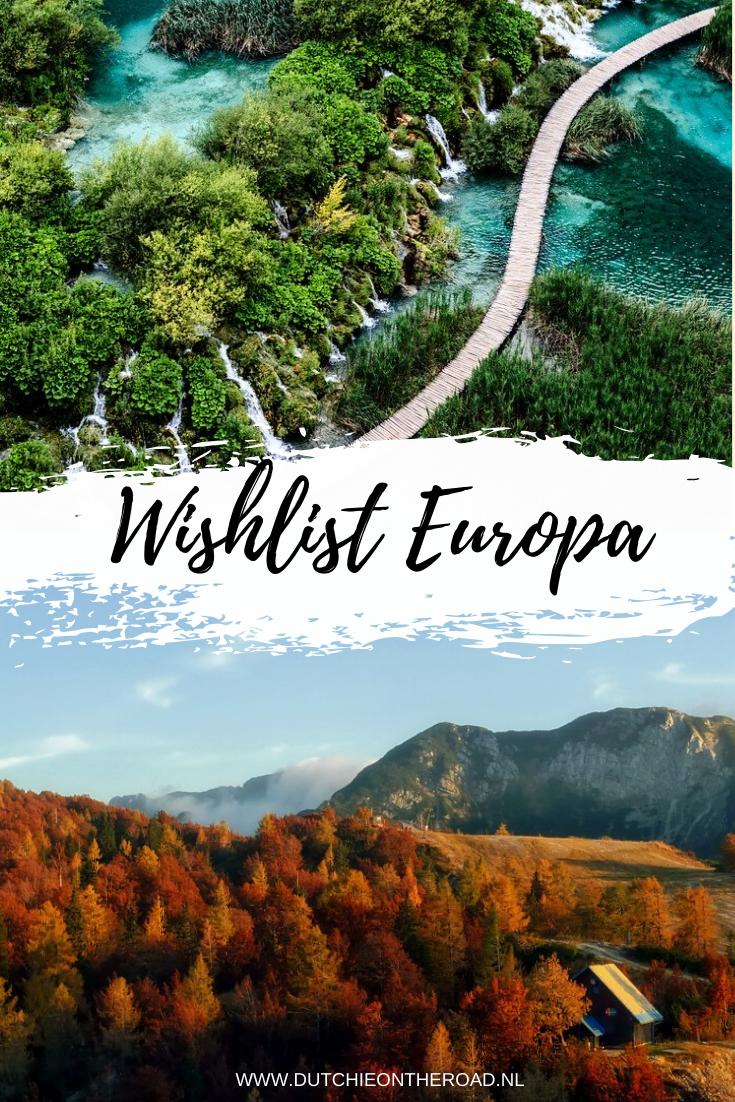 wishlist Europa