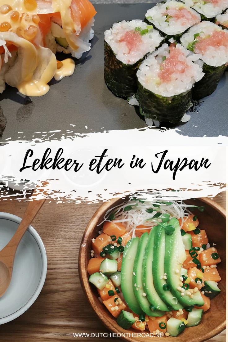 lekker eten in japan
