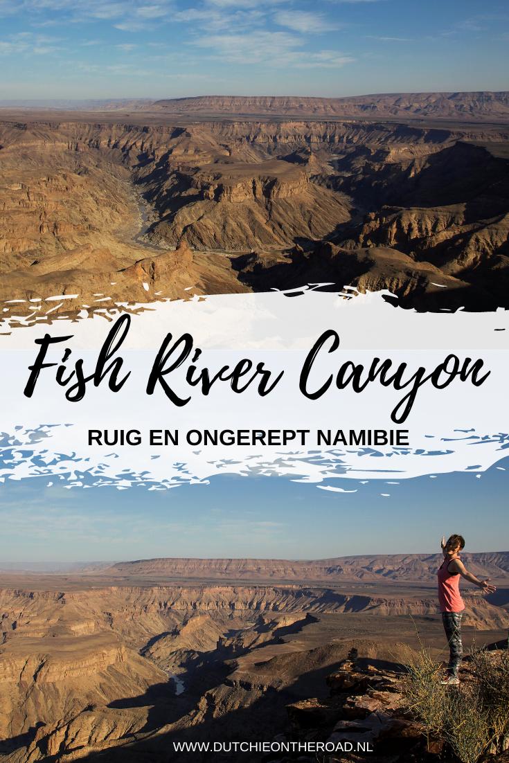Fish River Canyon Namibië