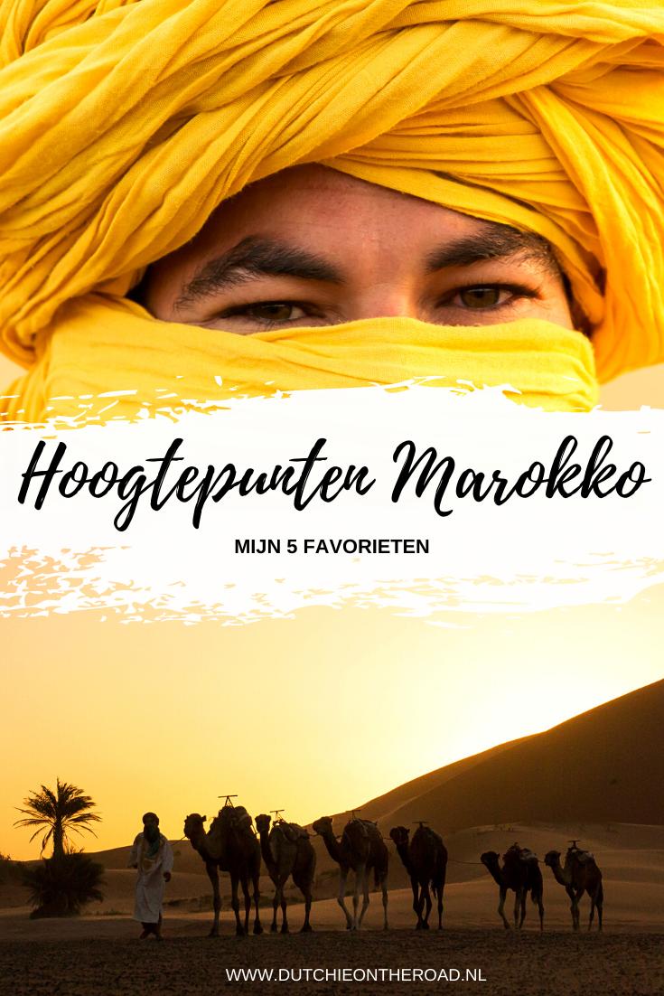 Hoogtepunten Marokko