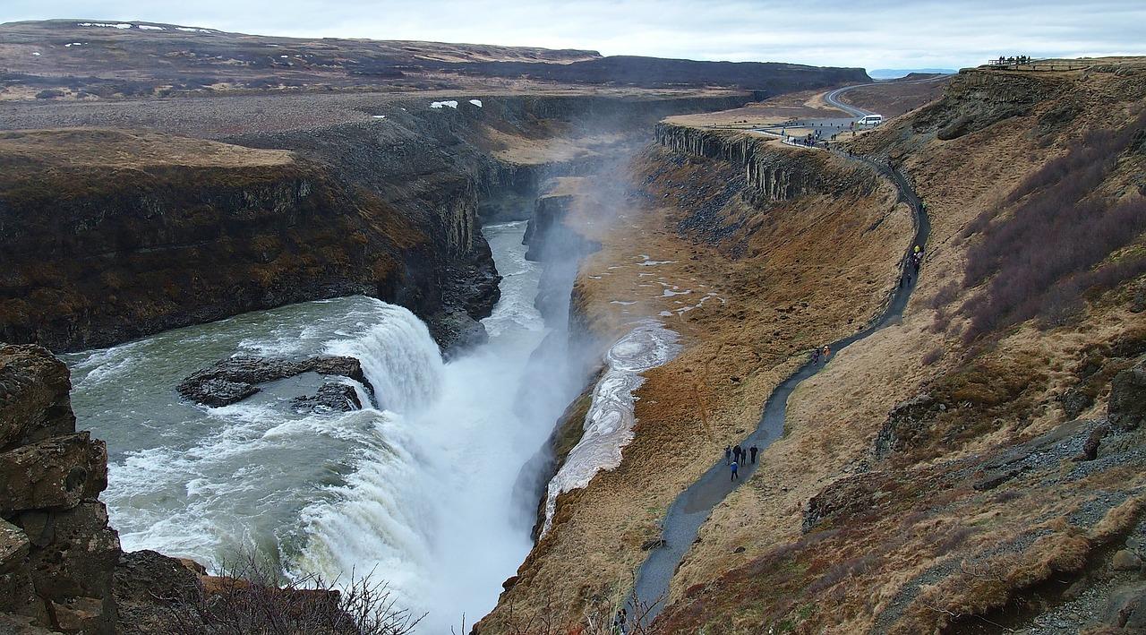 Gulfoss IJsland