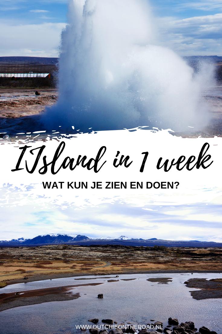 IJsland in 1 week