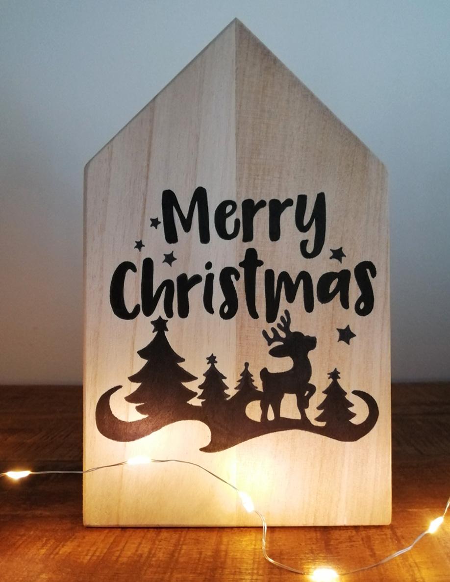DIY Kerstdecoratie