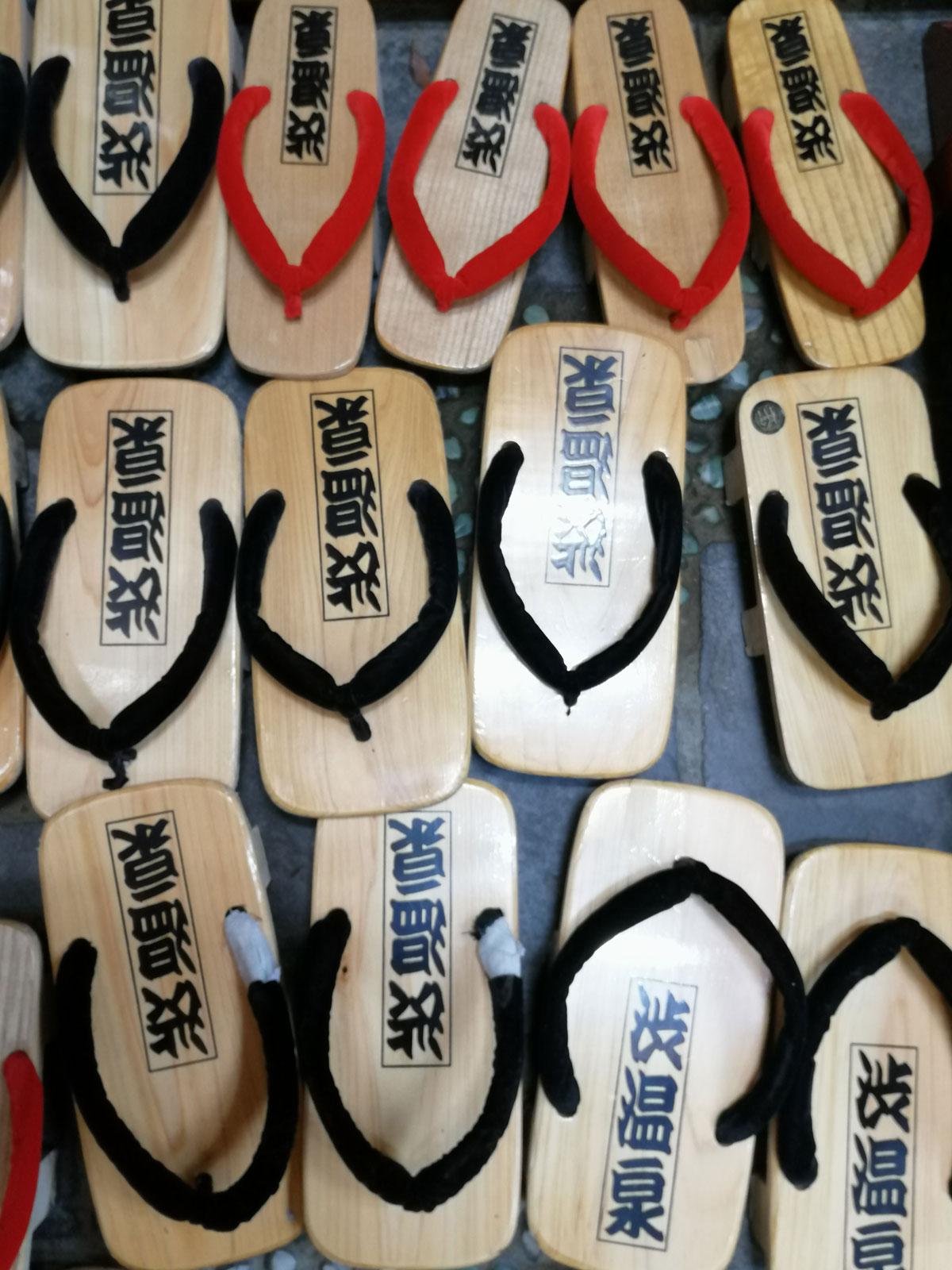 slippers japan