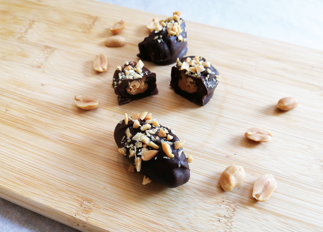 Recept Dadel Snickers